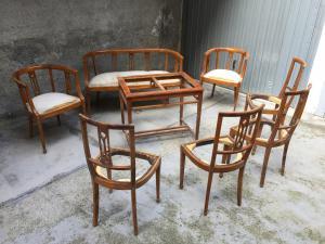 Sedie Imbottite Anni 50 : Sedie antiche del sedie antiche mobili antichi antiquariato su
